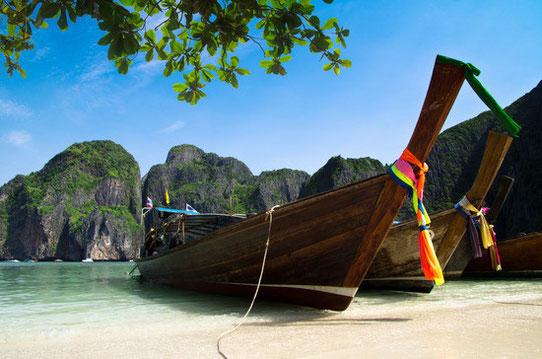 Sur les plages paradisiaques de Thaïlande !