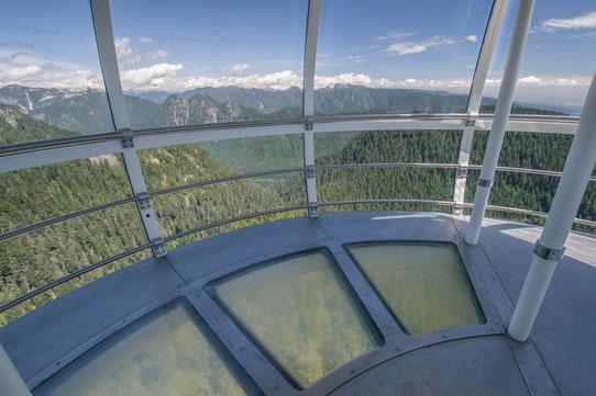 Grouse Mountain - Vue depuis le sommet de l'éolienne