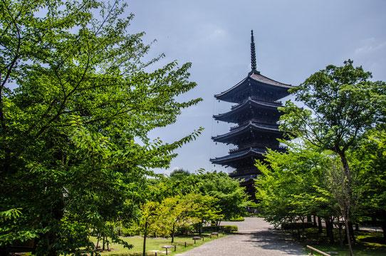 Le temple To-Ji à Kyoto