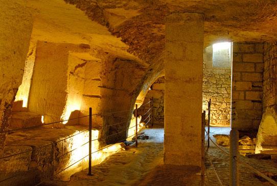 Les catacombes de Saint-Emilion - crédit Anne Lanta