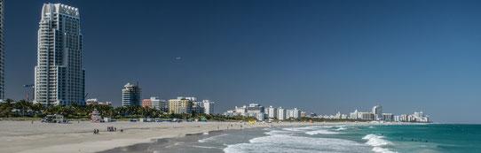 Vue sur la Skyline de Miami !