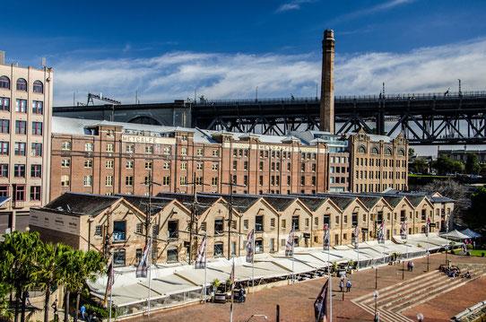 Les Docks de Sydney !