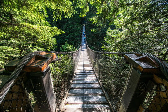 Guide Vancouver - Le pont suspendu de Lynn Valley