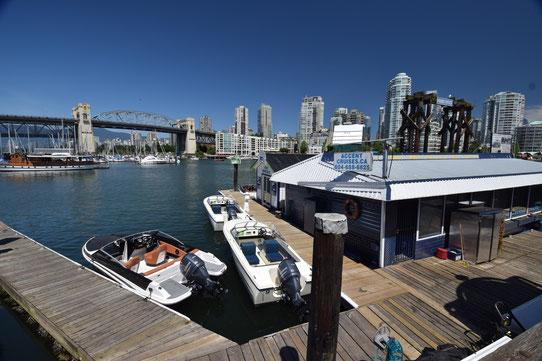 Location bateau dans la baie de Vancouver !