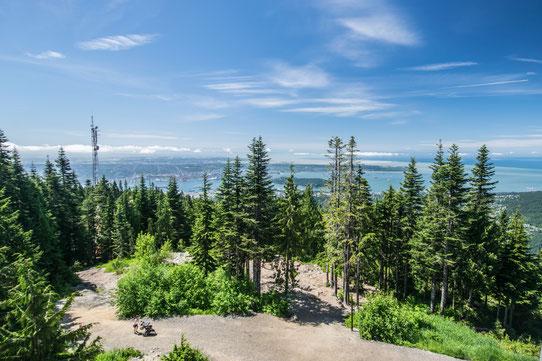 Grouse Mountain - Vue sur Vancouver