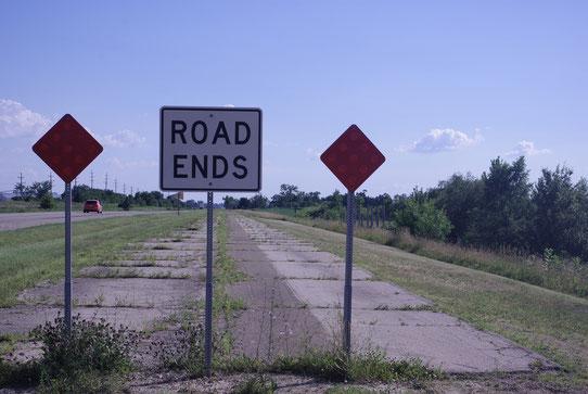 La route 66 n'est pas praticable sur toute la longueur