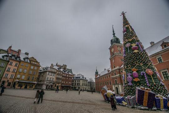 Place de Zamkowy à Varsovie !