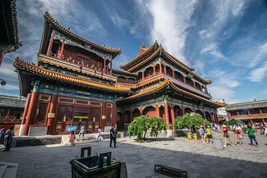 Le temple des Lamas, Pékin