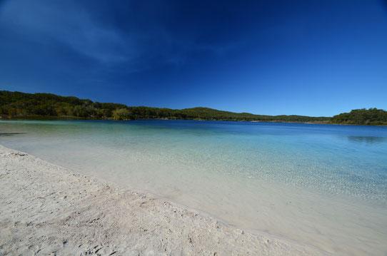 Le Lac McKenzie - Fraser Island - CopyRight : Trip85.com