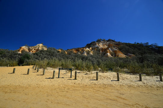 Les Pinnacles sur Fraser Island - CopyRight : Trip85.com