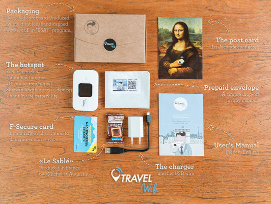 Le Pack Travel WiFi