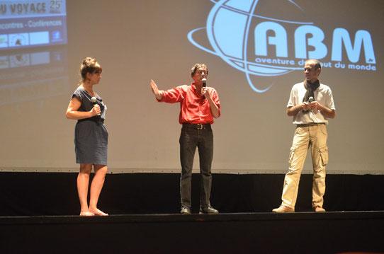 Antoine de Maximy au Festival des Globe-Trotters 2013 d'ABM