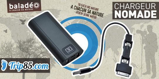Test Chargeur Nomade Twin 5000 de chez Baladéo
