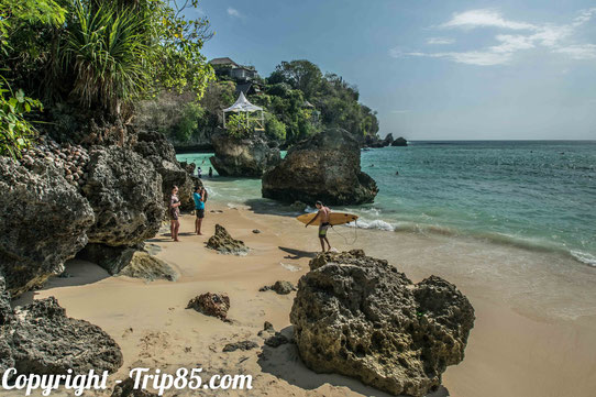 Plage aux alentours d'Ulu Watu, Bali