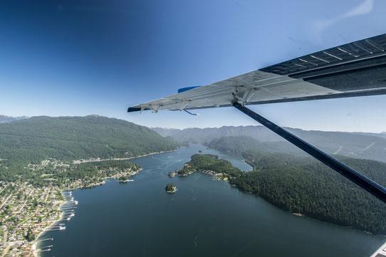 Vol en Hydravion - Vancouver - Harbour Air