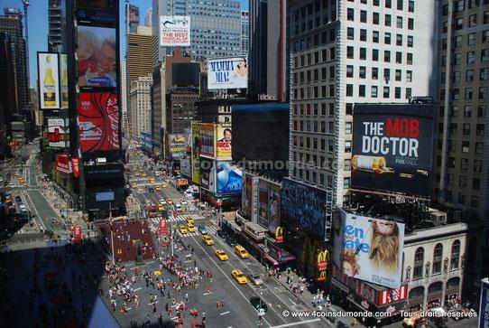 Vue Imprenable sur Times Square