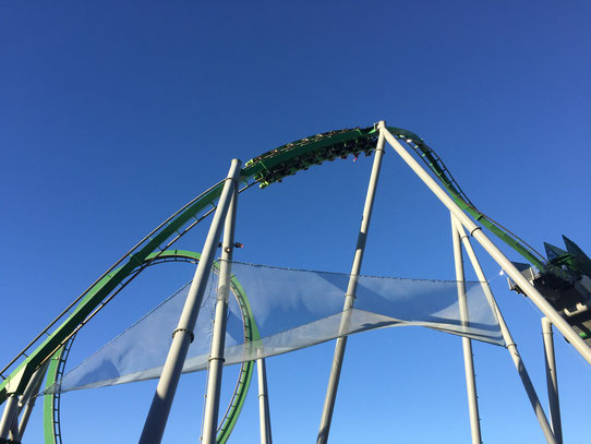 Roller Coaster de fou à Universal Studios !