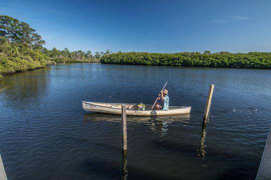 Faire du canoë en Floride !