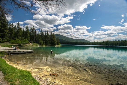 Lake Annette, Jasper, Canada - CopyRight Trip85.com
