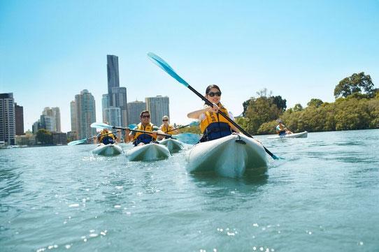 Faire du canoe ou du Kayak à Brisbane