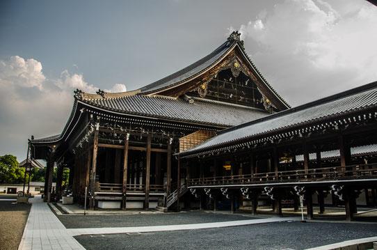 le Temple Higashi Honganji, Kyoto