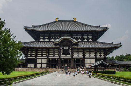 Temple Tōdai-ji , Nara, Japon