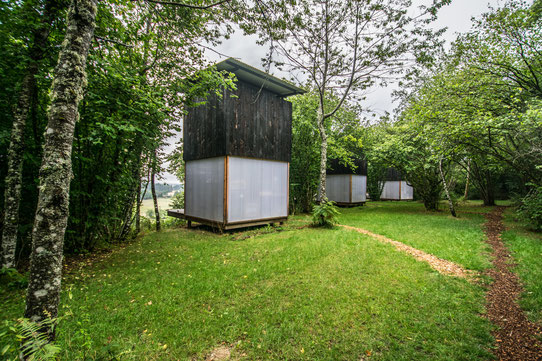 Les cabanes - Le Bois Basalte - Auvergne - Hébergement insolite