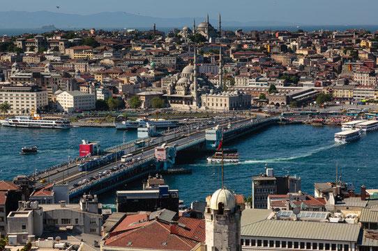 Vue depuis la Galata Tower, Istanbul / Source : Zdeno