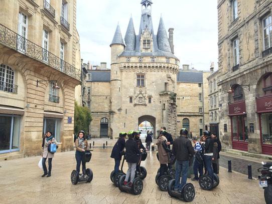 Dans les rues de Bordeaux en Segway !