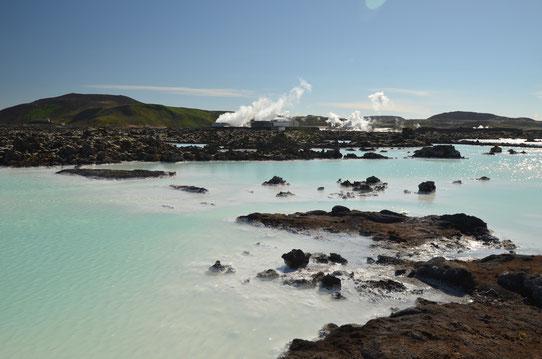 Le Blue Lagoon en Islande. A 20 minutes de l'aéroport de Keflavik !