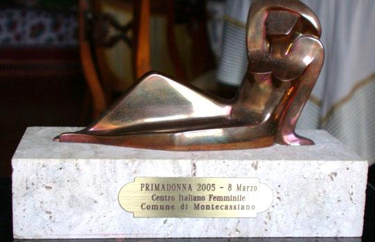 Premio Prima Donna 2005 a Patrizia Mazzoni - Montecassiano - Mc
