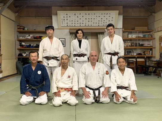 2019/10/7-9  Alain Corli (Nihon-Taijutsu)さんがフランスからお見えになりました。