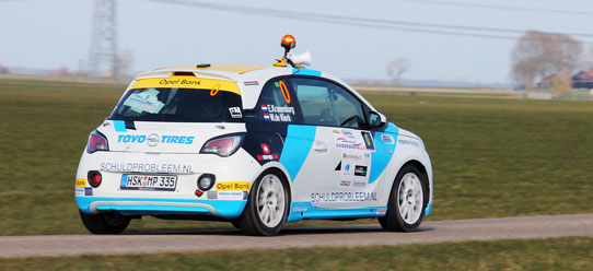 Opel Adam R2 Cup - Rallysport Utrecht - GTXDesigns Design - Rally - Livery Design - Wrap Design