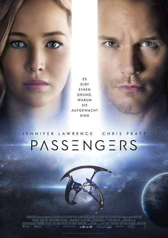Passengers - 2016 Columbia TriStar - SONY - kulturmaterial - German Poster