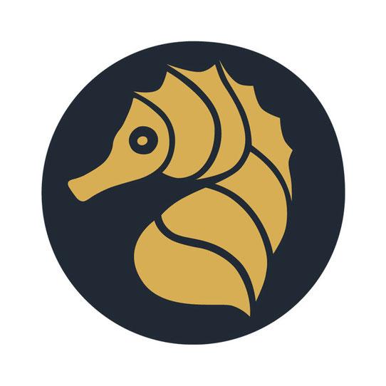 Tier, Icon, Seepferdchen