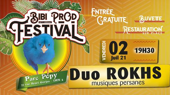 Bibi Prod Festival 2 Juillet 2021