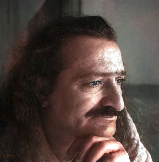 2. Meher Baba in seclusion on Meherabad Hill- 1st Aug. 1941. Photo taken by Padri.
