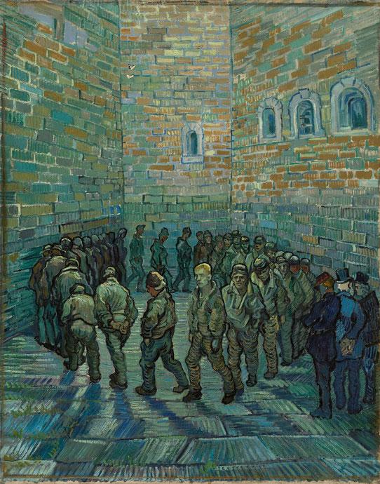 """V. Van Gogh, """"La ronda dei carcerati"""""""