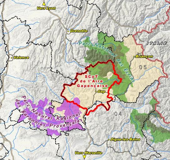 Un territoire de montagne stratégique au sein des Alpes du Sud