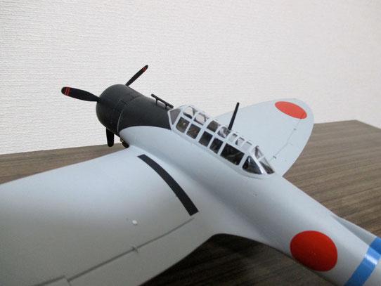 操縦席部分(99式)(2014.11.09)