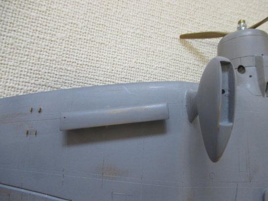 主翼の裏部分です(99式)(2014.09.14)
