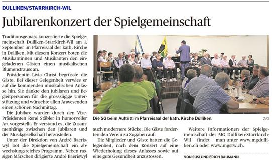 Oltner Tagblatt 12.9.2018, Seite 26