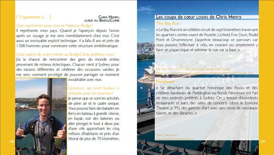 """Extrait du guide """"Sydney l'Essentiel"""" aux Editions Nomades"""