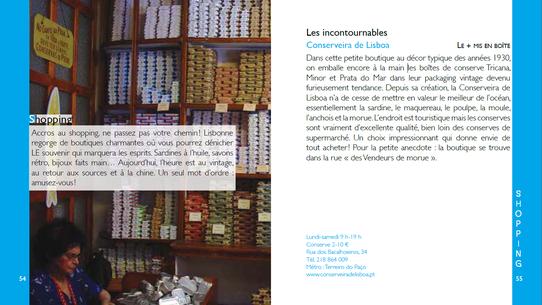 """Extrait du guide """"Lisbonne l'Essenitel"""""""
