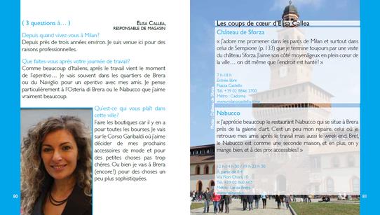 """Extrait du guide """"Milan l'Essentiel"""" aux Editions Nomades"""
