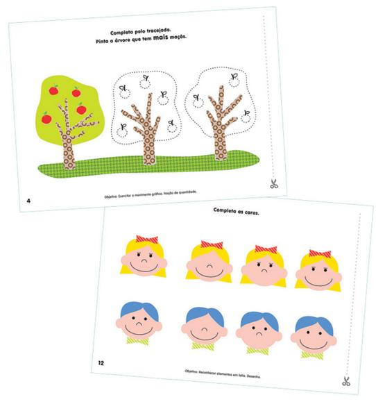 Arbeitsblätter auf Portugiesisch für Vorschulkinder – 3 Jahre - Ola ...