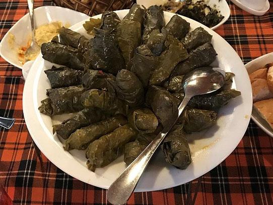 Une recette arménienne : le tolma ou dolma