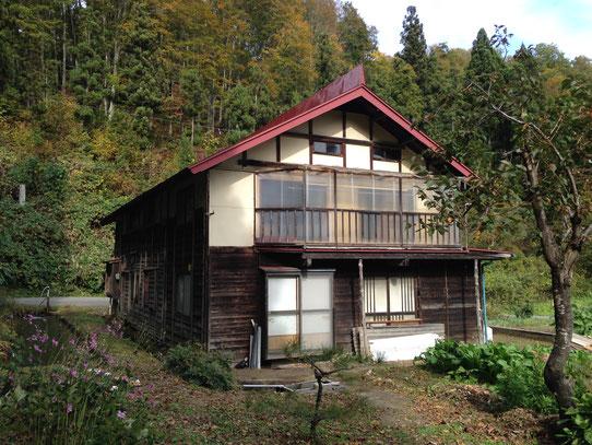 飯山の民家