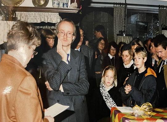 Verabschiedung als Dorfpfarrer in Greven-Gimbte 1996