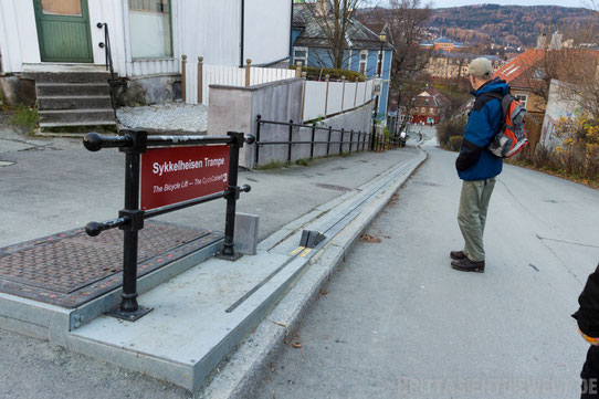 Fahrradlift,Trondheim,Hurtigruten,Norwegen,ms,Midnatsol, Postschiff,Winter,November,Tipps,2014